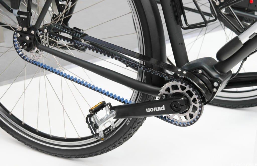 Riemen sind In: hier am vsf fahrradmanufaktur TX-1200