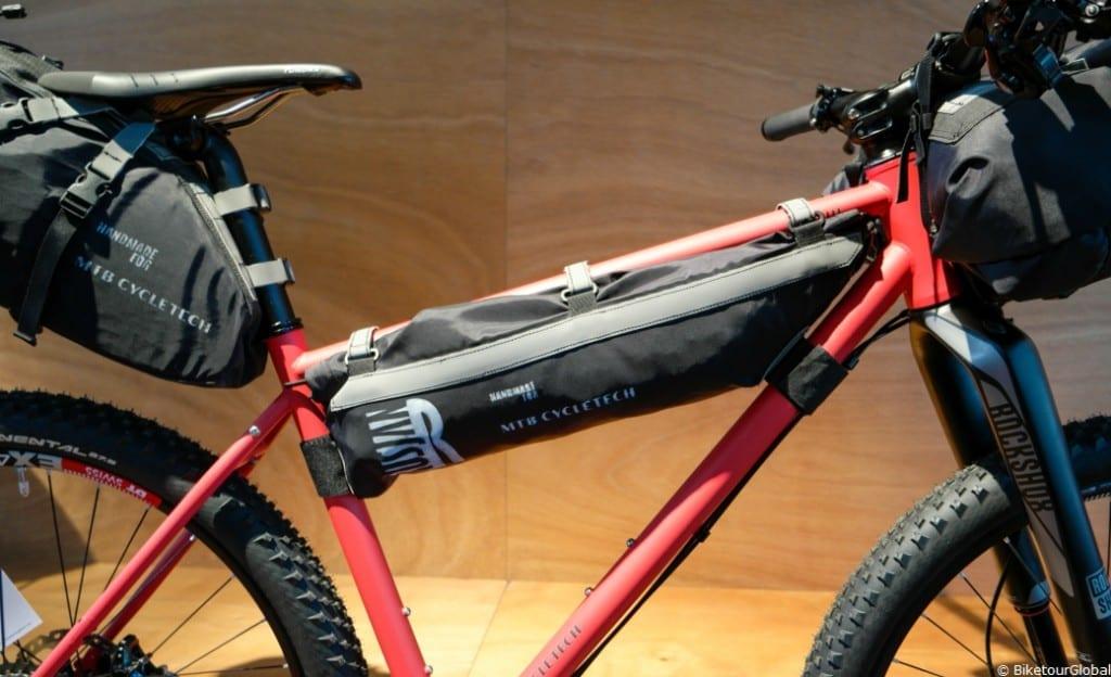 Die neue Rahmentaschen-Linie von MTB Cycletech heisst Rusjan