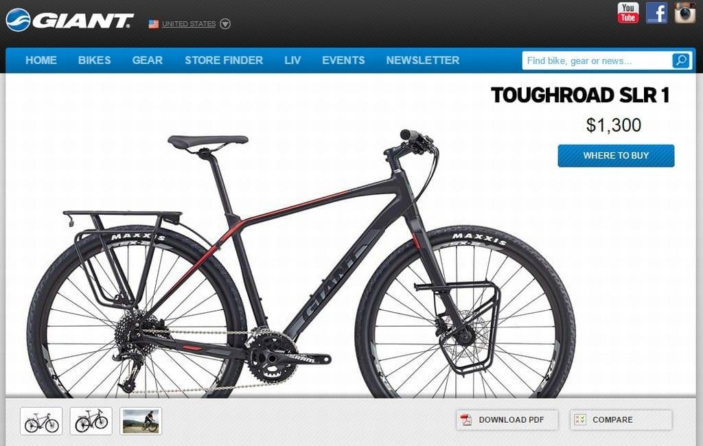 Leider konnte ich das Rad nicht fotografieren. Daher hier ein Screenshot von der Produktseite.