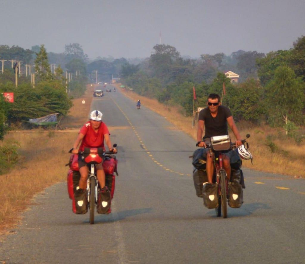 Schwitzen in Laos © fahrradnomaden.de