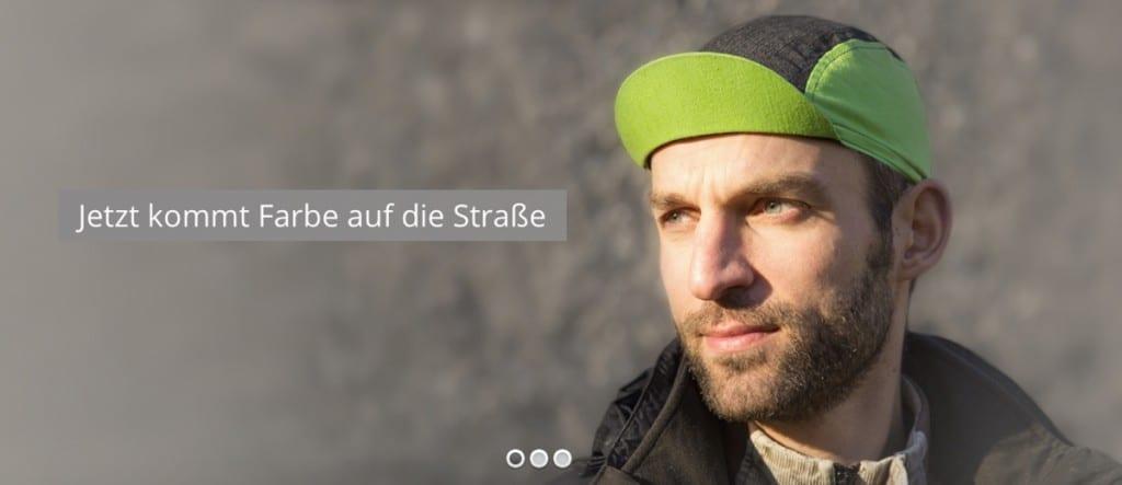 Fahrrad Caps zum selbst gestalten © mybeanie-shop.com