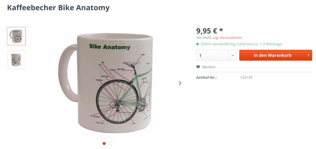 Screenshot Fahrrad-Tasse © skaide.de