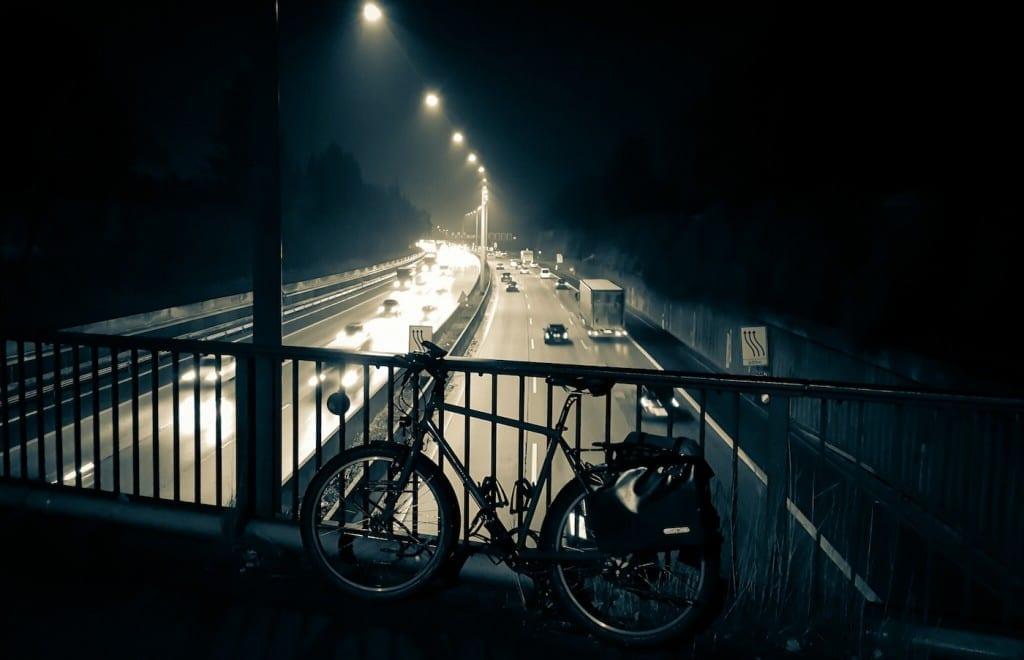 Über die Autobahn A7