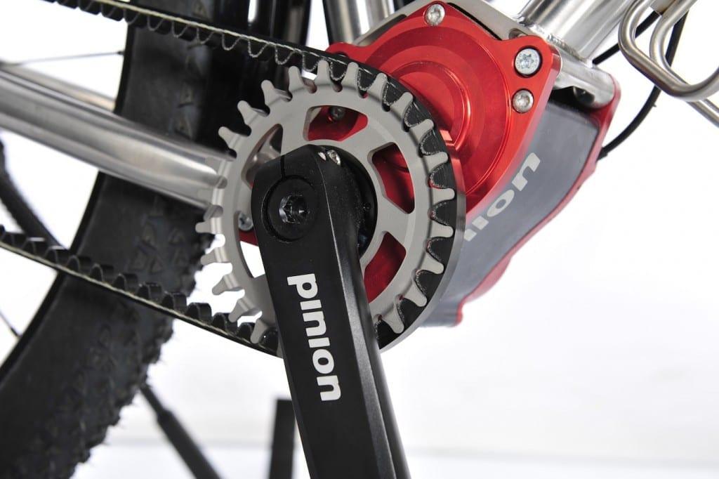 Das Rennstahl 931 mit Pinion und Conti-Riemen © Rennstahl Bikes