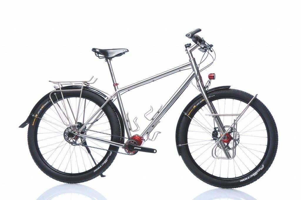 Das Rennstahl 931 mit Pinion © Rennstahl Bikes
