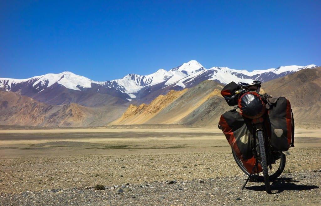 Leidenschaft für das Reisen mit dem Rad © Anselm Nathanael