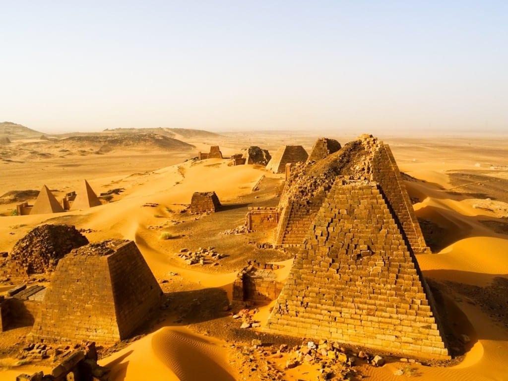 In der ägyptischen Wüste © Anselm Nathanael