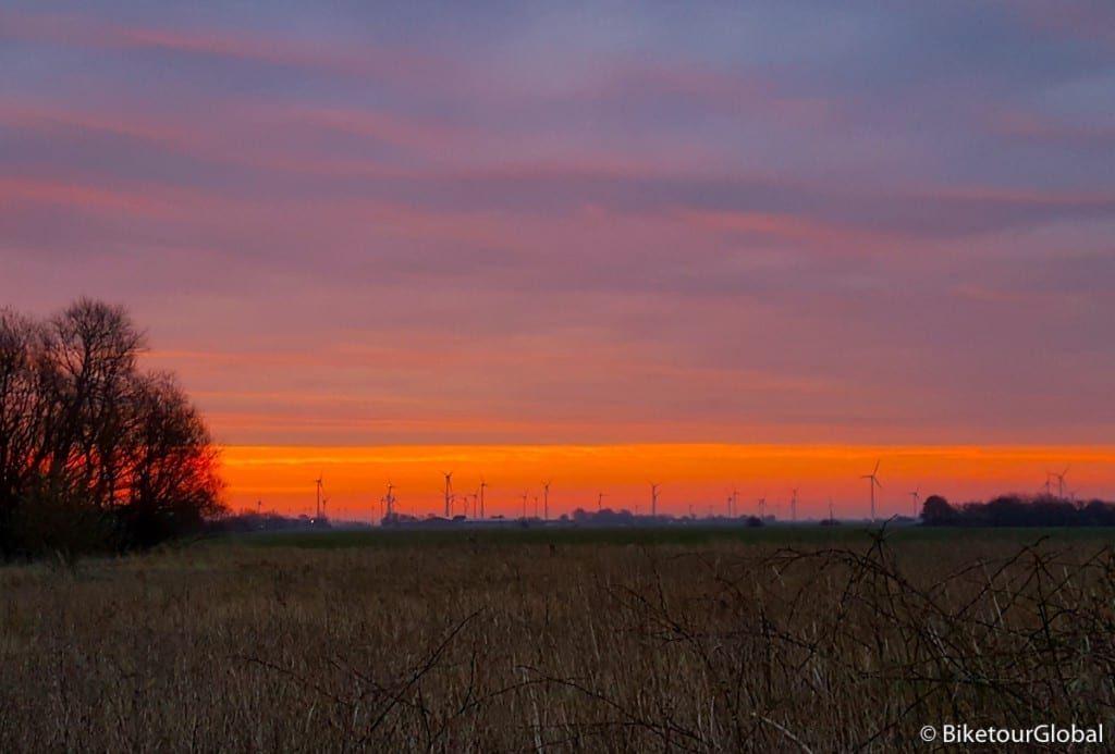 Sonnenaufgang an Ostersonntag
