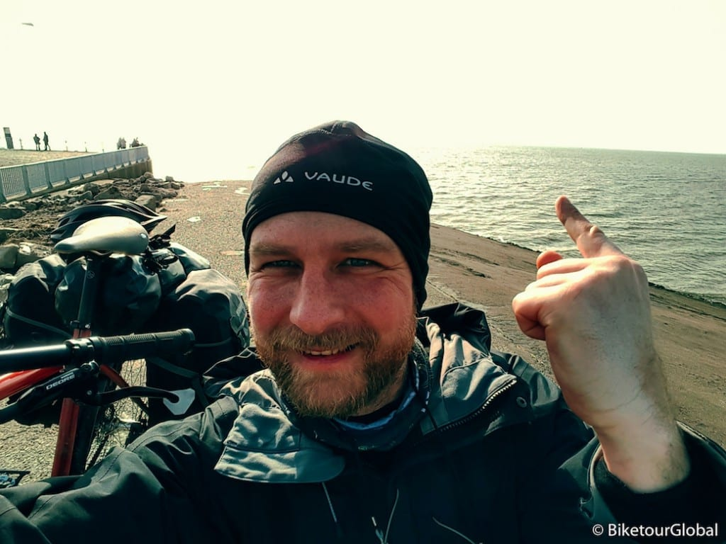 Geschafft: ich bin an der Nordsee