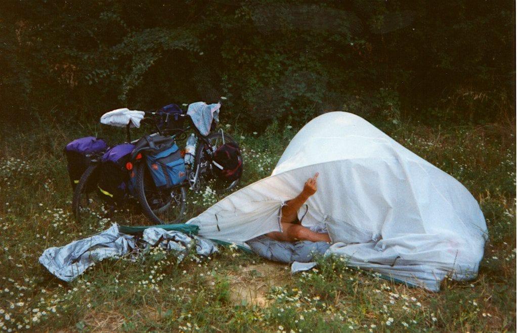 Ohne Worte - 1993 in Italien, auf dem Weg nach Marokko