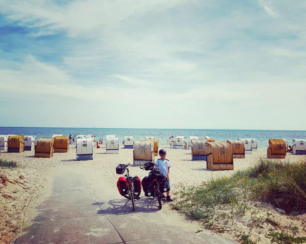 Das Ziel nach 100 km: die Ostsee!