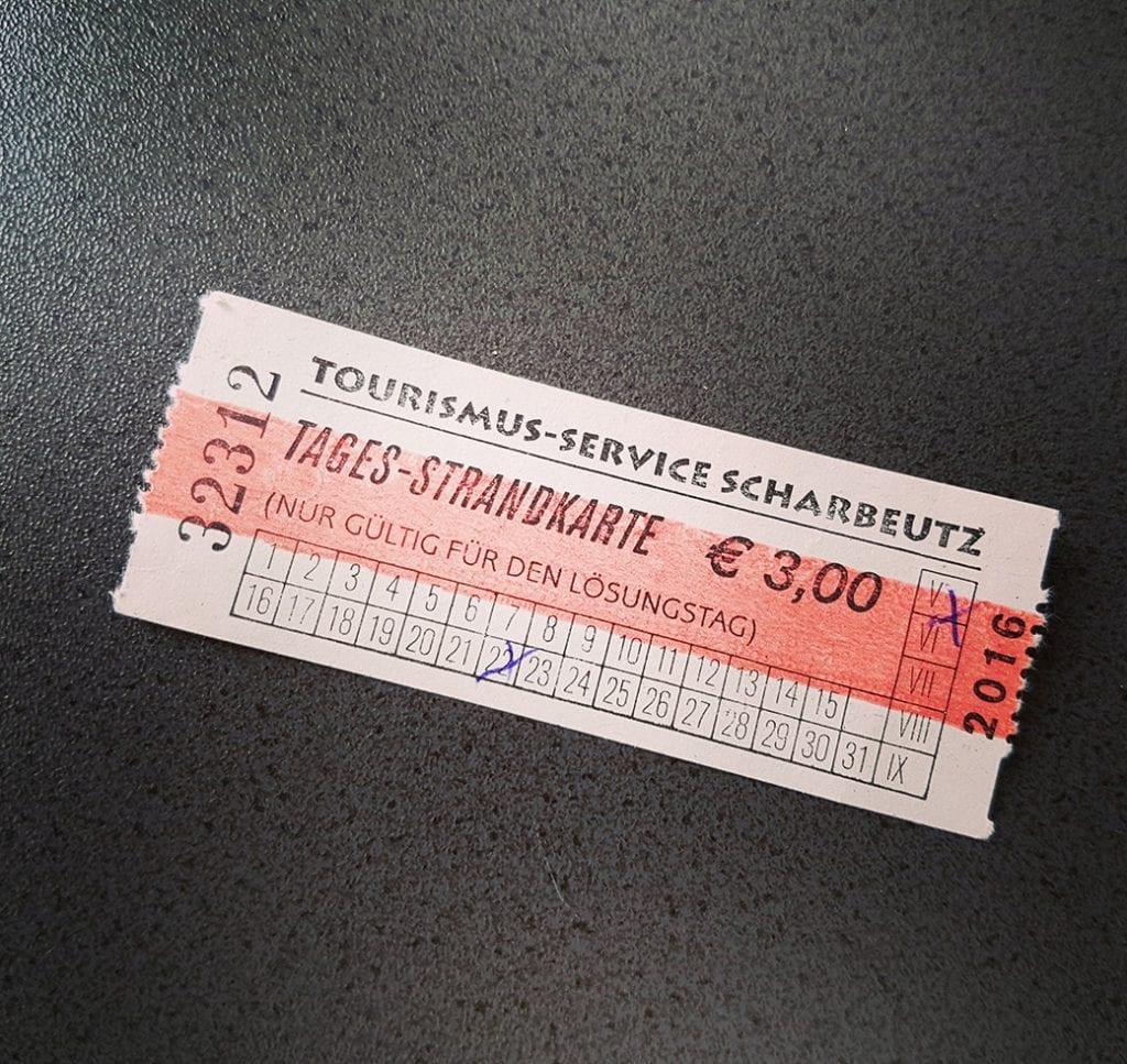 3 Euro für etwas Strand - Herzlich Willkommen in Haffkrug!