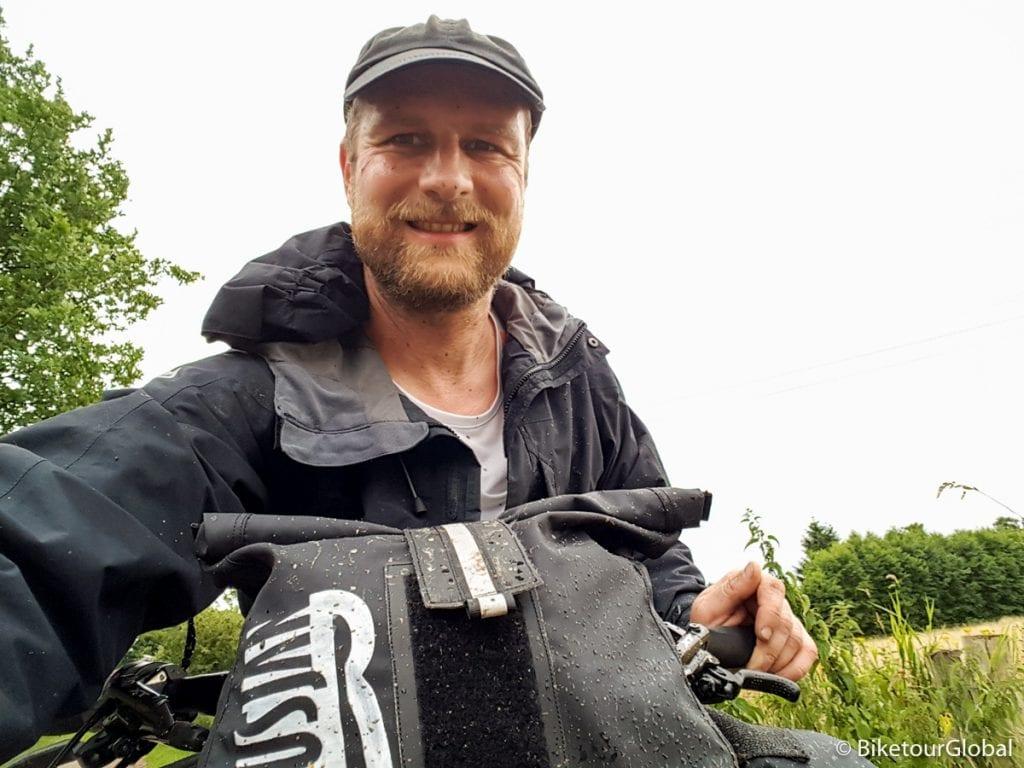 Auf erster Bikepacking Tour