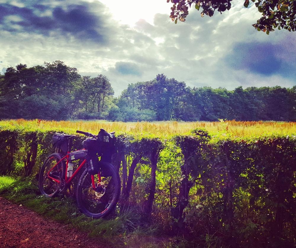 Bikepacking Idylle