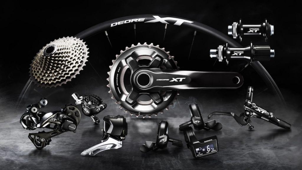 Die neue Shimano XT DI2Gruppe © Eurobike 2016