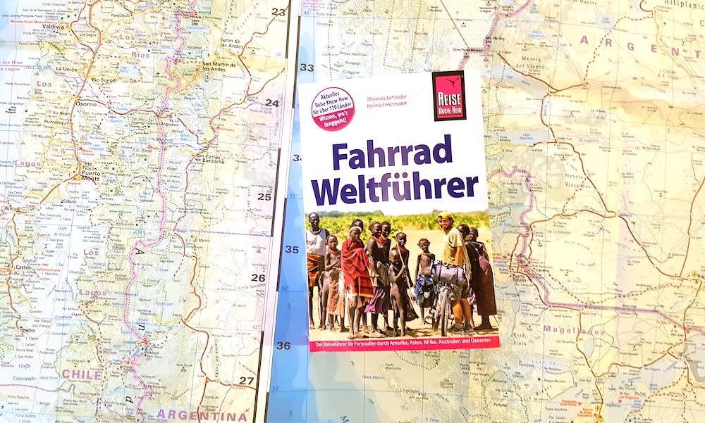 Fahrrad Weltführer ist das bislang einzige Buch, in dem ich mitgeschrieben habe