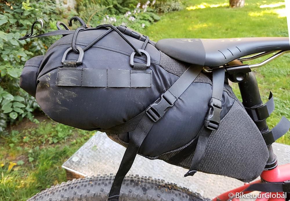 Die Rusjan Satteltasche gibt es in zwei Größen