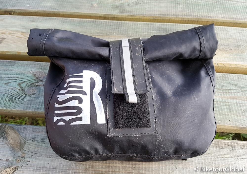 Die Fronttasche von vorne