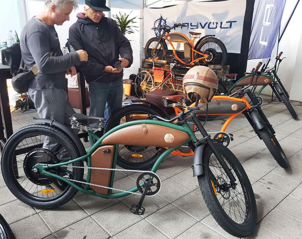 Fayvolt Harley-Style-Rad auf der Eurobike