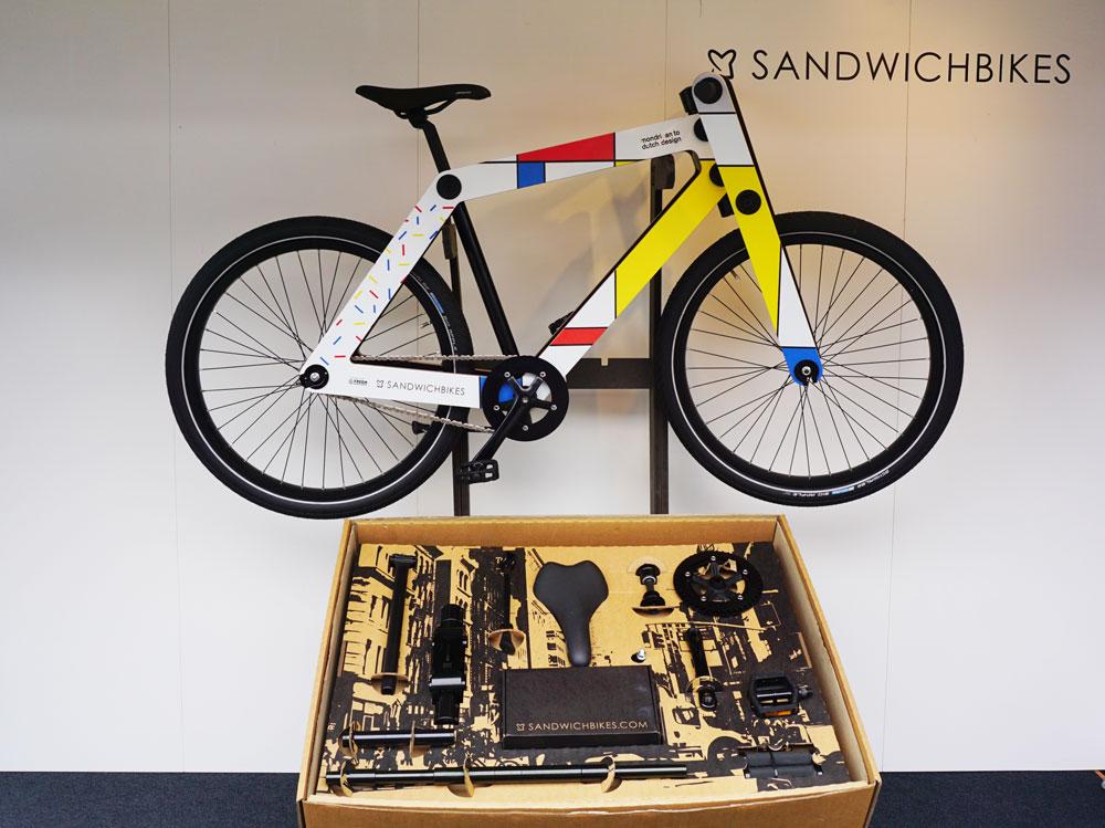Sandwich Holzrad Bausatz