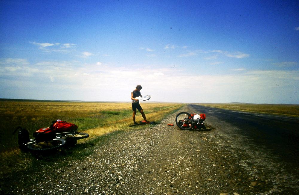 Transasien Panne im Nirgendwo in Kasachstan