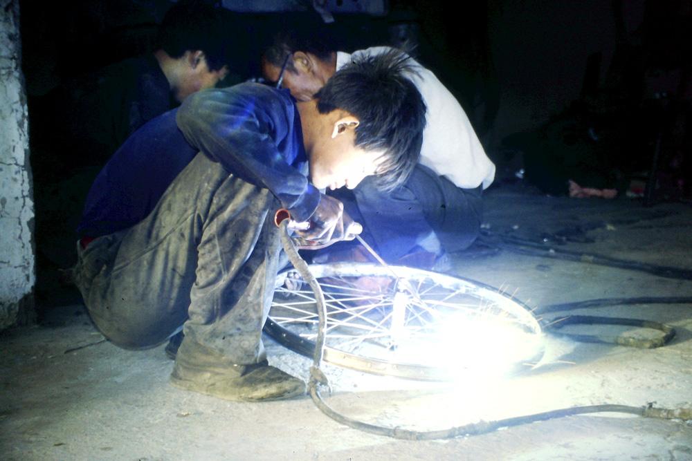 Transasien Felgenschweissen in China