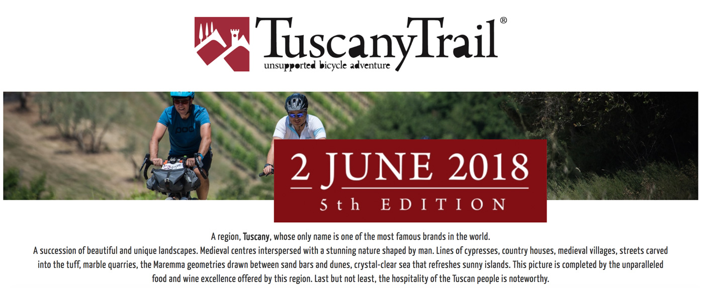 Tuscany Trail Mein erstes Mal