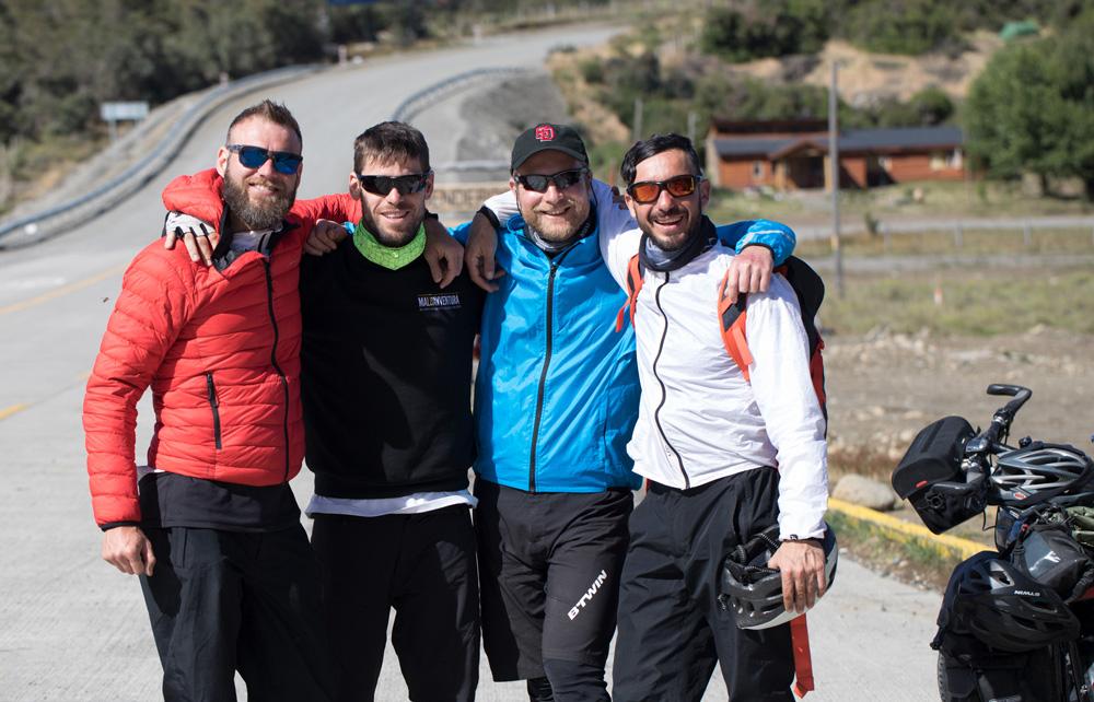 Tuscany Trail Treffen mit Freunden