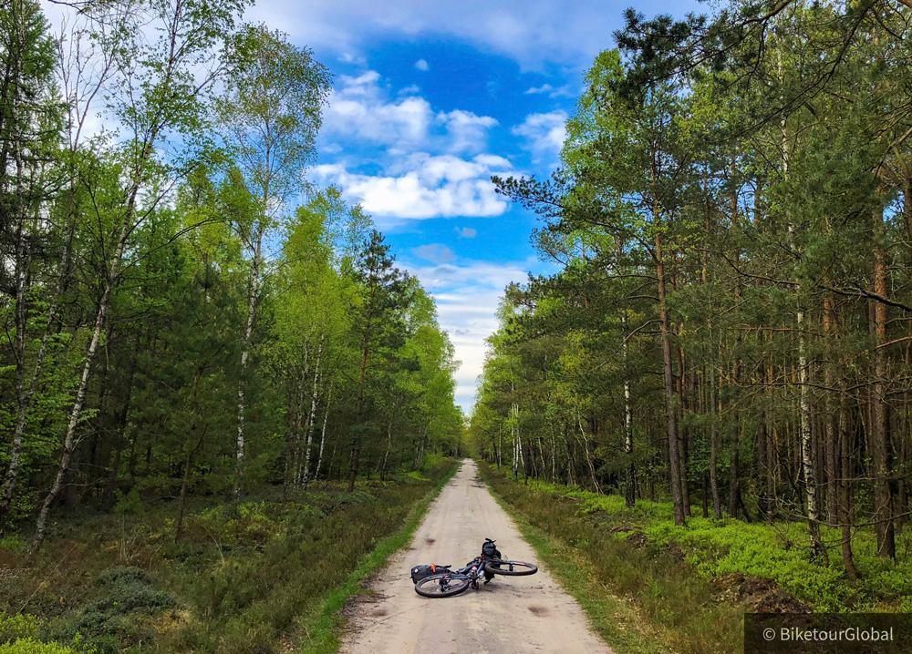 Bikepacking Heidschnucken Wanderweg