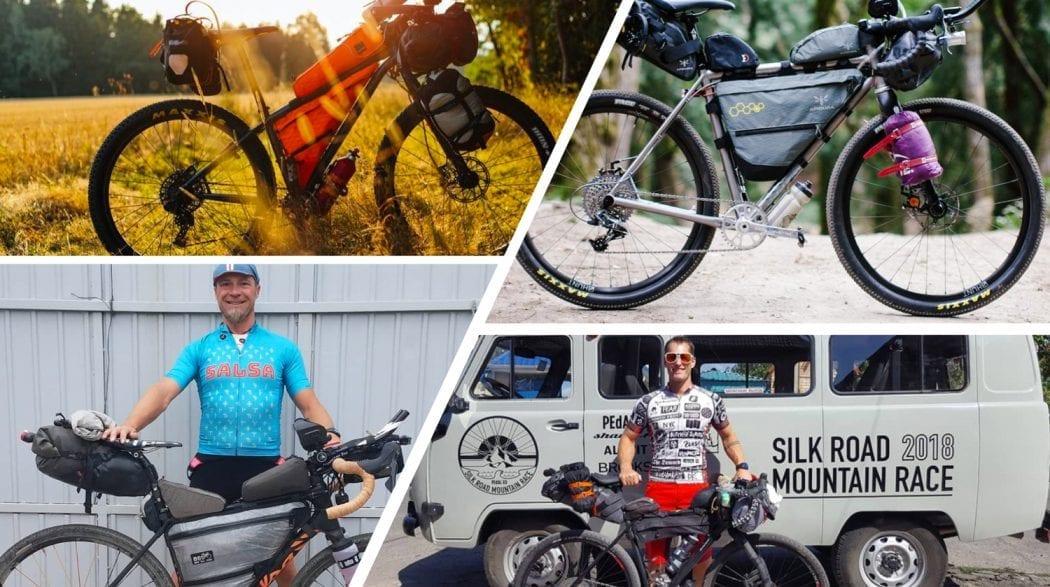 Die Räder des Silk Road Mountain race 18