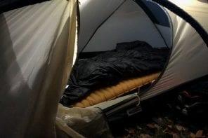 Schlafsack & Isomatte