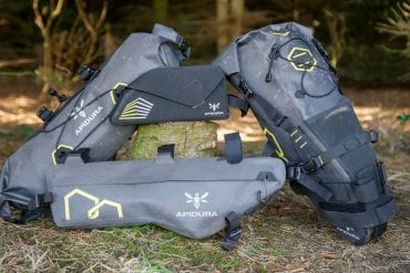 Lightweight & Performance oriented: Test Ride with the Apidura Expedition Bikepacking Packs