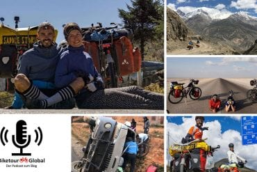 Bergauf fahren ist super! Podcast-Tour mit Saddlestories nach Malaysia
